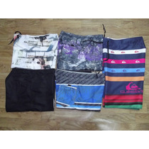 Kit 4 Shorts Tactel Maculino Barato Surf Praia Superpromocao