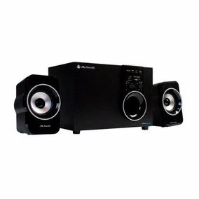 Acteck Sistema Multimedia Sonido 2.1 Pc Sd 3.5 Axf-390