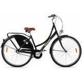 Bicicleta Vintage Retrô Premium Nexus 3v Oma A700 Preta