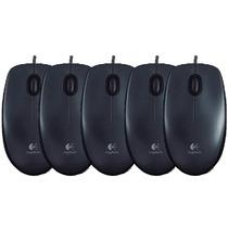 Mouse Logitech M100 Optico Usb Pack 10u