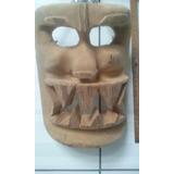 3 Mascaras Talladas Precio De Ocacion