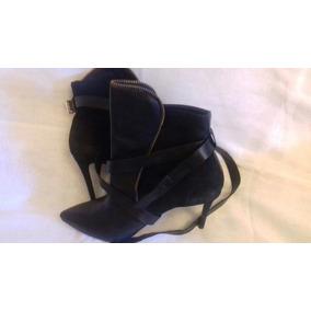 Botas De Vestir De Cuero Negras Nro 39