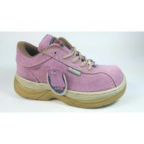 Zapatos Ten Colours # 4.5, Gamuza Auténtica. Envío Gratis.
