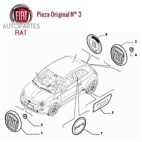 Sigla Fiat Trasera Fiat Siena Uno Palio Original®
