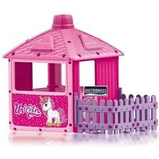 Casa De Juegos Para Ninas Modelo Unicornio Patios Jardin