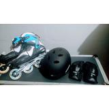 Roller Oxer Power Full Pg150 + (capacete E Luva)