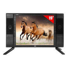 Tv Led 19 Bak Bk-1950 Hd Com Hdmi Usb + Conversor Digital