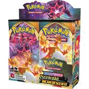 Booster Box Escuridão Incandescente Espada Escudo 3 Pokémon