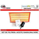 Kit Filtros Gasolina Aceite Y Aire Chery Grand Tiger 4x4