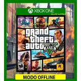 Gta 5 - Grand Theft Auto V Xbox One Offline (lea La Descripc