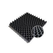 Placa Panel Acústico Espuma Conos 500 X 500 X 75 Mm