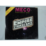 Star Wars Vintage Disco Lp Empire Strikes Back Meco 1980 #2