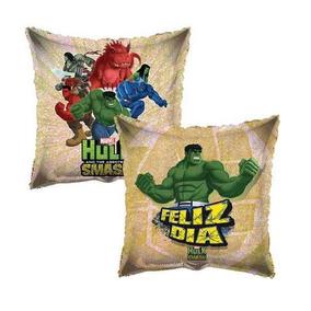 Globos Metalicos 9pulg Centro Mesa Fiesta Hulk Avengers