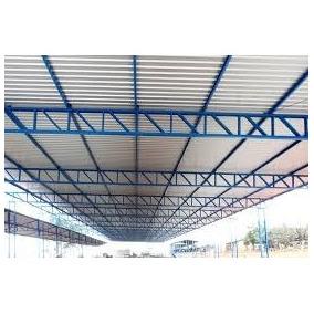 Projeto De Telhado Em Estrutura Metálica (galpões E Casas)