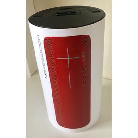 Caixa De Som Logitech Ue Megaboom Sem Fio Bluetooth Vermelha