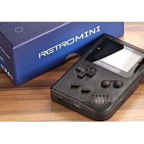 Game Boy Colour Retro Mini Cor Cinza, Com Micro Sd Jogos