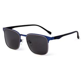 Tomye 3042 Clásico Metal Cuadrado Marco Polarizados Gafas D