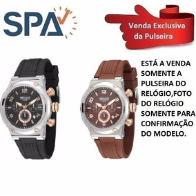 01971917da3 Relogio Feminino Pulseira Em Acrilico Seculus - Relógio Seculus no ...