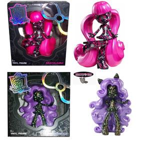 Monster High Vinyl Clawdeen Wolf Y Draculaura 2 Figuras