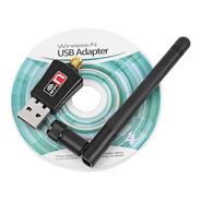 Adaptador Usb 2.0 Wifi 802.11n Antena 5dbi Wireless 300mbps