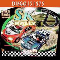 Scalextric Pista De Autos Rally (comp) 4x4- Luces - 12 V.