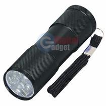 Lampara Linterna 9 Leds Aluminio Portatil Mano Ultrabrillant