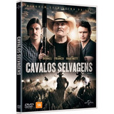 Dvd Cavalos Selvagens Robert Duvall James Franco + Brinde
