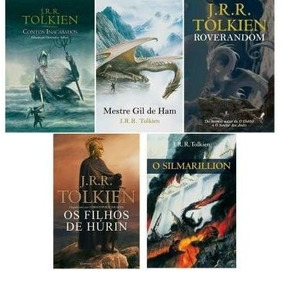 Kit 5 Livros - Tolkien - Novos - Lacrados