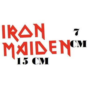 Adesivo Banda Iron Maiden Logo Heavy Metal C/ Frete Grátis