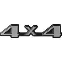 Emblema 4x4 Linha Ford - Pampa Belina F100 E F1000