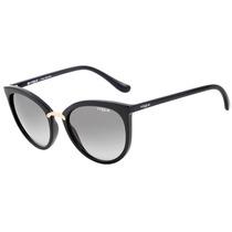 Vogue Vo 5122 Sl - Óculos De Sol W44/11 Preto Brilho/ Preto