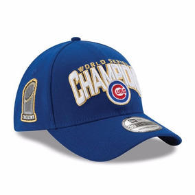 Gorra Oficial Chicago Cubs Campeon Serie Mundial 2016