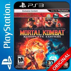 Mortal Kombat 9 Ps3 Digital Komplete Edition Original! (c2)