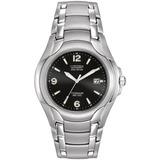 Reloj Citizen Bm6060-57f Titanium Ecodrive Agente Oficial Jr