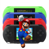 Consola Retro Portátil 200 Videojuegos Super Nintendo Y Sega