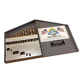 Perforar Hog Usa 13 Bit Pc Cobalto Taladro Set Índice M42 Br