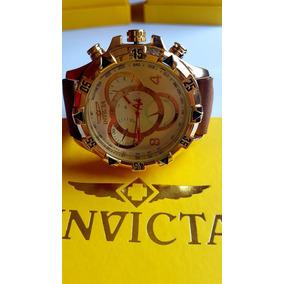 Relógio Invicta Masculino Básico Pulseira De Couro