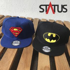 Gorras Planas De Batman Y Superman