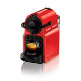 Nespresso Máquina De Café Inissia C40 Rojo Cafeteras El 7tec
