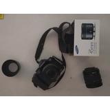 Cámara Reflex Profesional Samsung Nx10 Con Lente 18-55 Mm