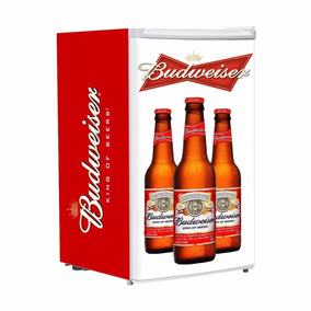 Adesivo Para Frigobar Cerveja Budweiser Envelopamento