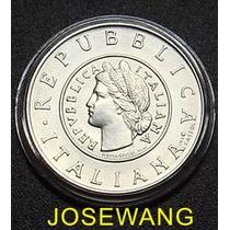 Lira. Moneda Conmemorativa Italiana Del Año 2001 Plata C/u