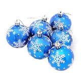 Rntop 6 Unids Bolas De Navidad Adornos Fiesta De Navidad Ár