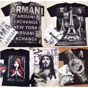 Camisas Lacoste E Armani 100% Originais