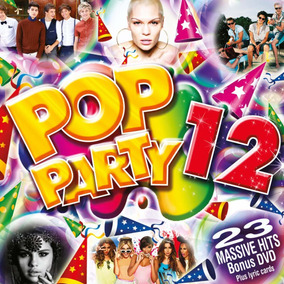 Pop Party 12 [cd+dvd] Importado - Bruno Mars One Direction