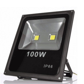 Refletor Led 100w Holofote Bivolt Prova Dágua Branco Frio