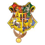 Relógio Parede Pêndulo Harry Potter