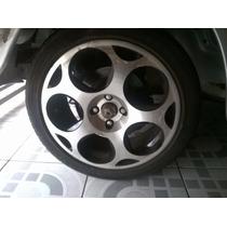 Jogo De Rodas Aro 17 Com Pneus 215/45 - Modelo Lamborghini