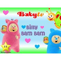 Kit Imprimible Billy Bam Bam Babytv Invitaciones Fiesta