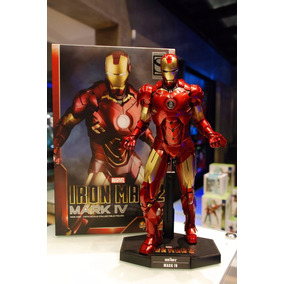 Iron Man Mark Iv 4 Hot Toys Exclusive (no Brasil) (em 12x)